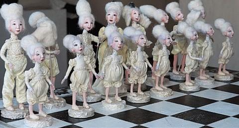 Шахматная королева- ФЕРЗЬ