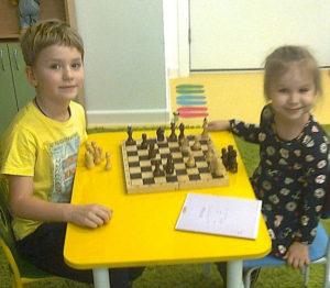 Обучение шахматам дошкольников 5 и 6 лет