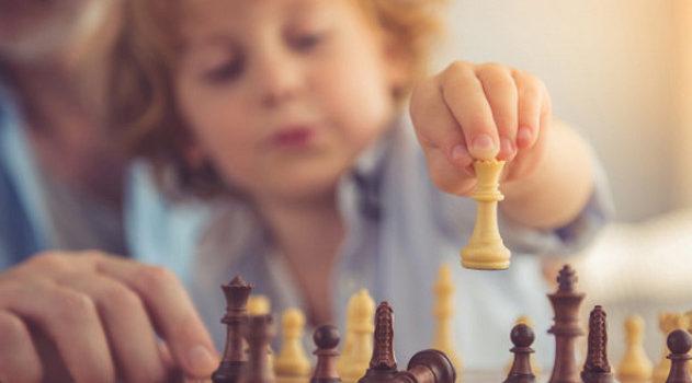 Обучение шахматам детей. Маленьких и с нуля.