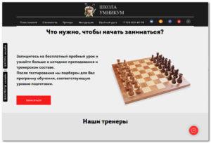 Шахматная школа УМНИКУМ