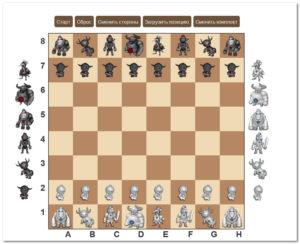 Редактор шахматной доски онлайн
