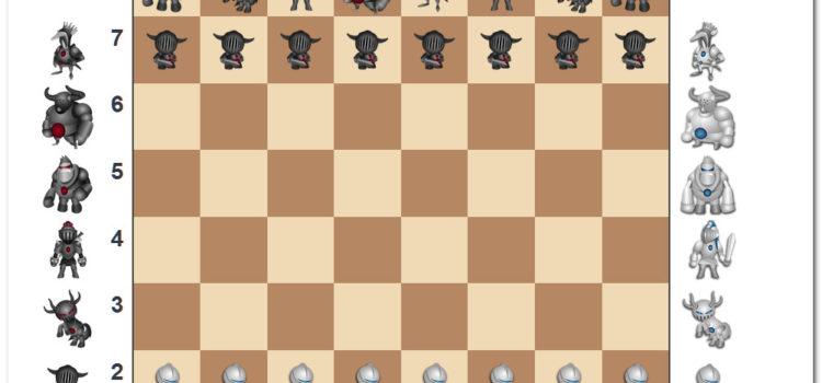 Новый полнофункциональный редактор шахматной доски в режиме онлайн. С монстриками, как обещал ))))